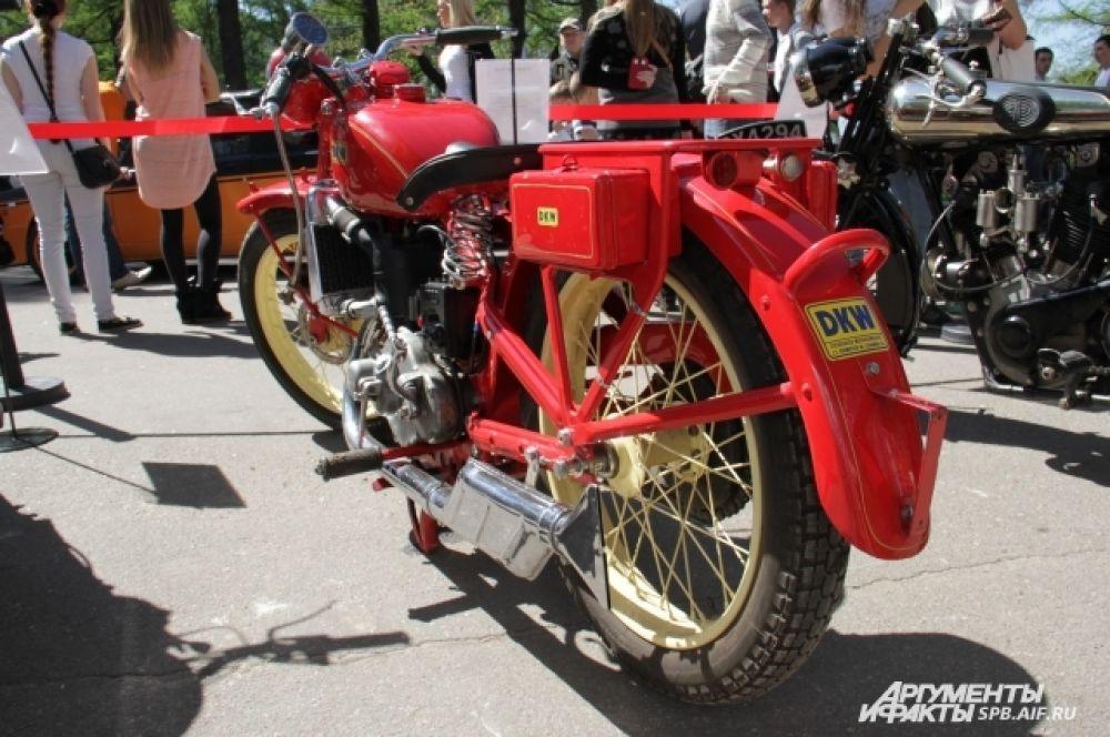 DKW SS 500. Германия. 1929-1933 г.
