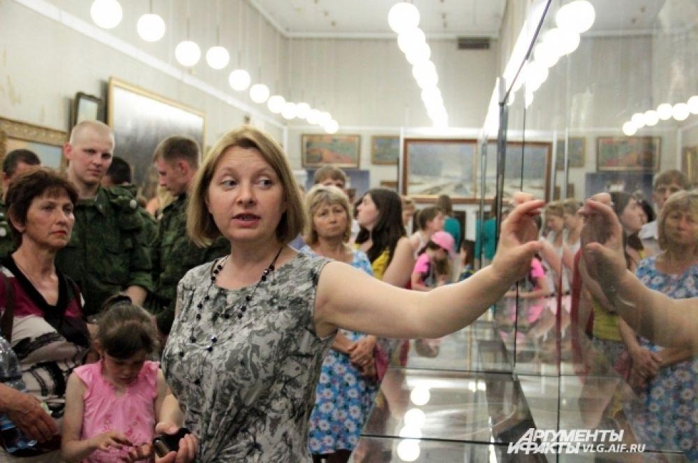 В музее изобразительных искусств им. И.И. Машкова экспозиции сопровождались комментариями искусствоведов.