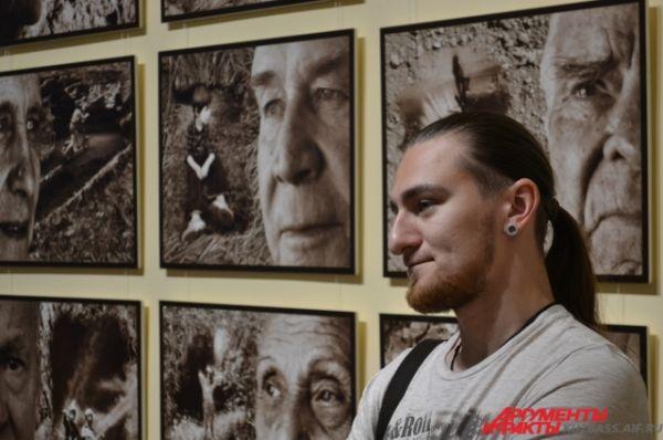 Живой интерес гостей музея вызвала уникальная фотовыставка