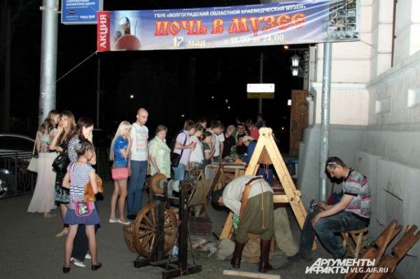 С каждым годом акция «Ночь в музее» в Волгограде становится все более популярной.