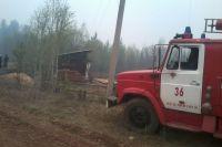 Семьи, чьи дома уничтожены в огне в поселке Дальний, получат до 300 тысяч рублей.