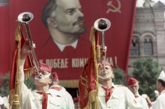 Парад на Красной площади, 1967 год.