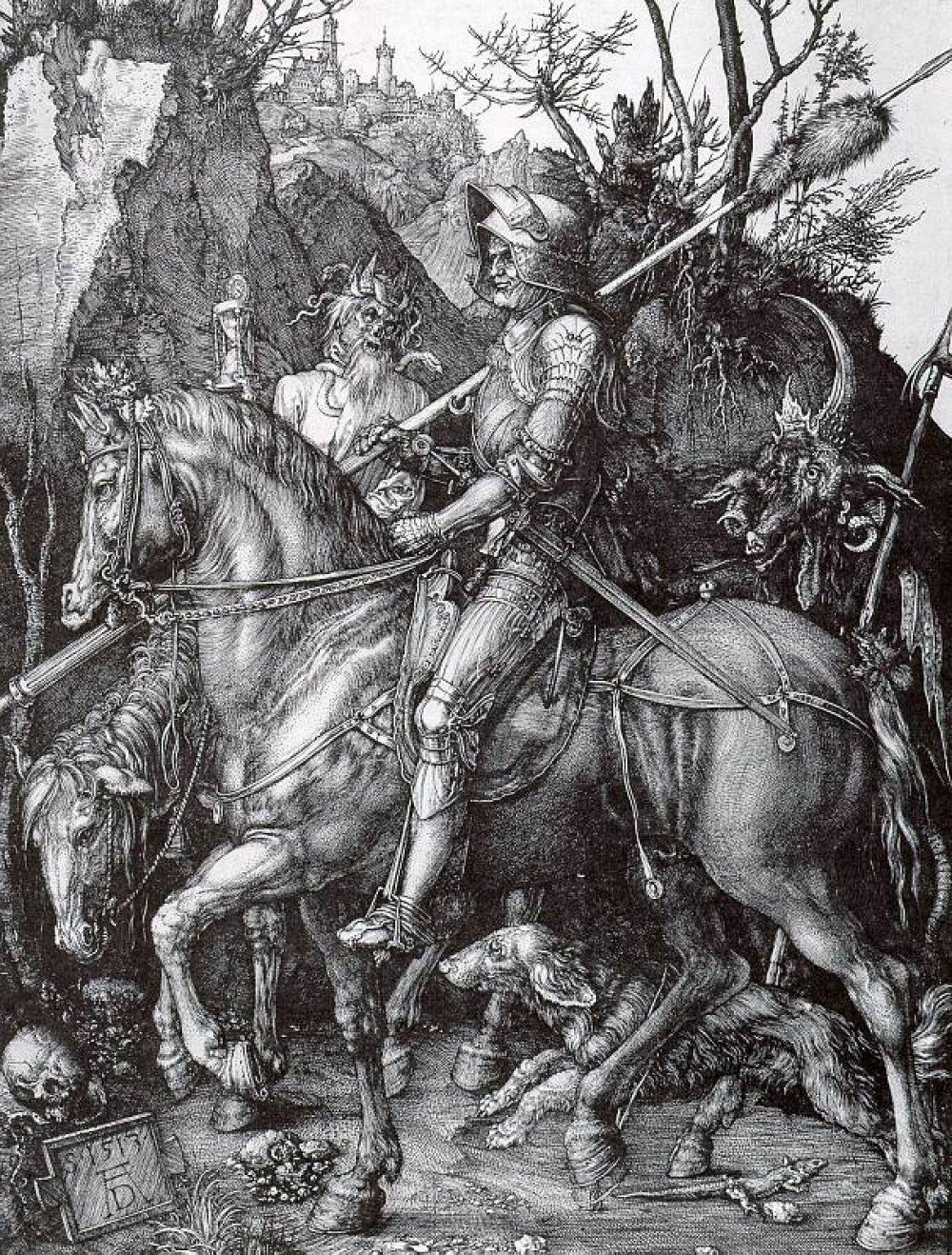 Женитьба на Агнесе Фрай в 1494 году, благодаря которой социальный статус Дюрера повысился, позволила художнику создать свое собственное дело. Он открывает мастерскую, где создает значительную часть своих гравюр, экспериментирует с гравировкой на меди, выполняет заказы нюрнберских издателей и приобретает общеевропейскую известность.