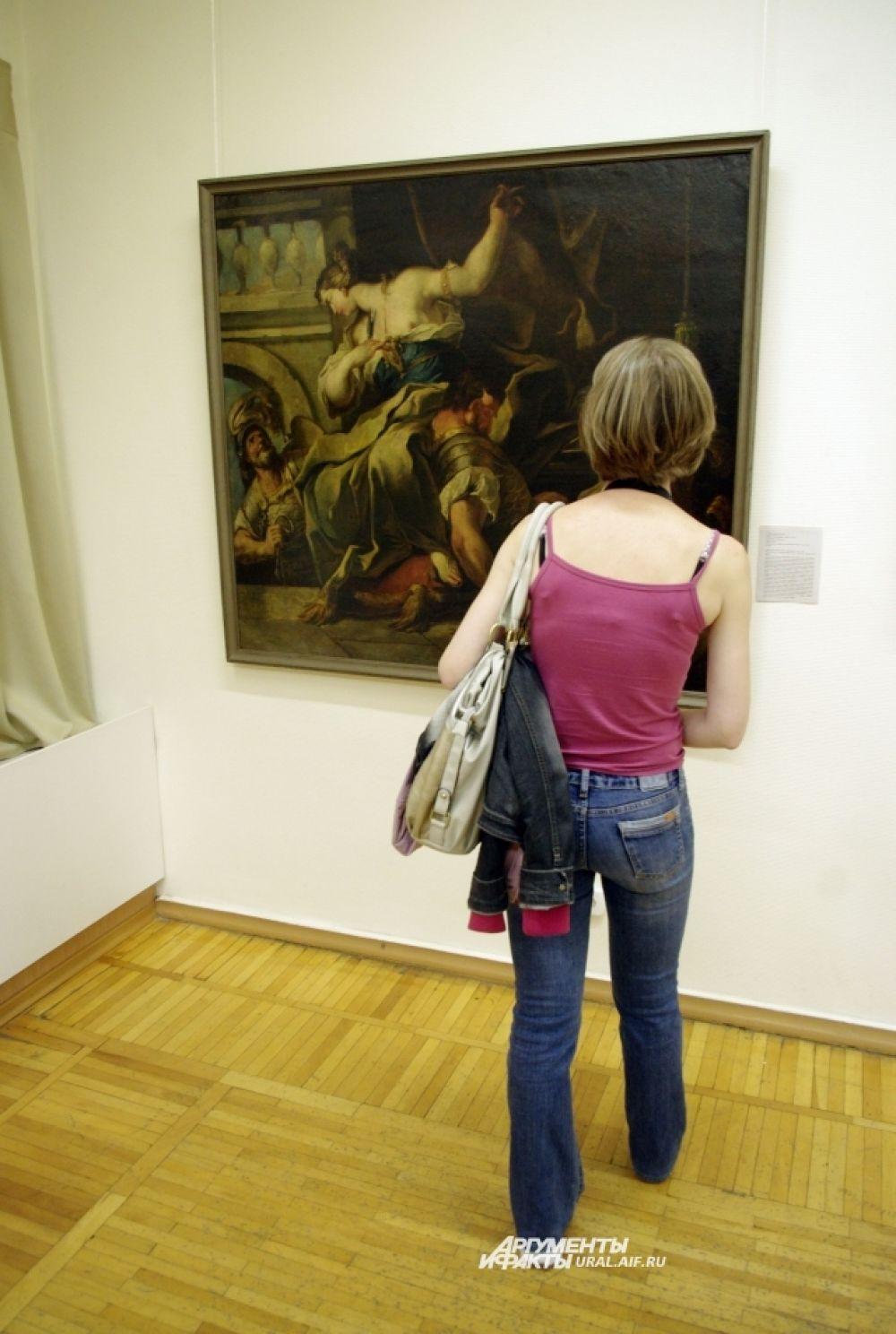 В другом здании музея ИЗО уральцев ждали организованные экскурсии по выставке «За семью печатями».