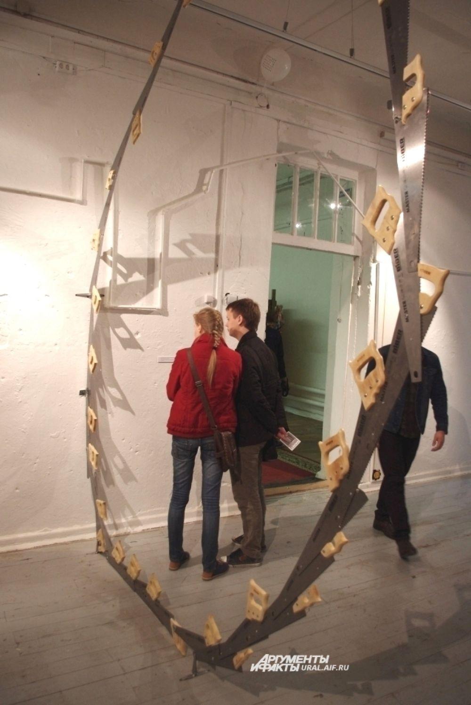 Многие работы проекта немало удивили посетителей.