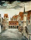 Ученичество закончилось 4-хлетним путешествием по городам Германии, Швейцарии и Италии. Пейзажные зарисовки, которые художник сделал заграницей, стали первыми в изобразительном искусстве акварелями в этом жанре.
