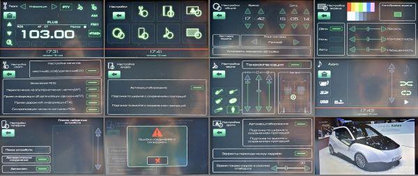 Варианты работы и настроек мультимедийной системы