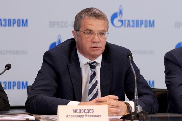 Александр Медведев, заместитель председателя правления компании «Газпрома»
