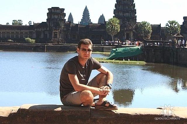 Алексей Слабинский в Таиланде.