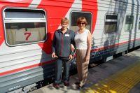 Поезд Москва-Кисловодск.