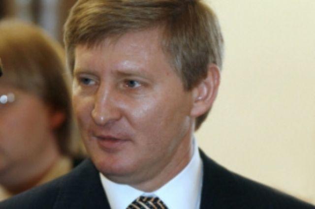 Украинский бизнесмен Ринат Ахметов.