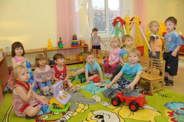В Омске строят очередной детский сад.