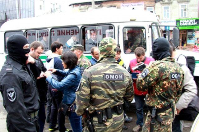 Операцию «Нелегал-2014» проводят сотрудники полиции совместно со специалистами УФМС.