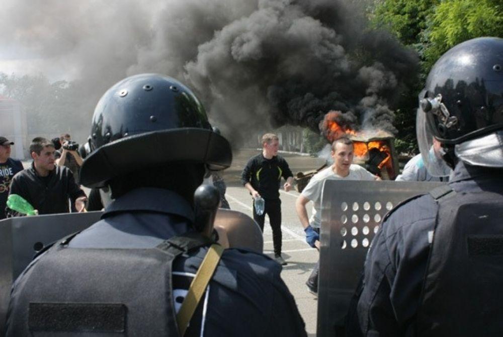 Одесская Нацгвардия провела учения