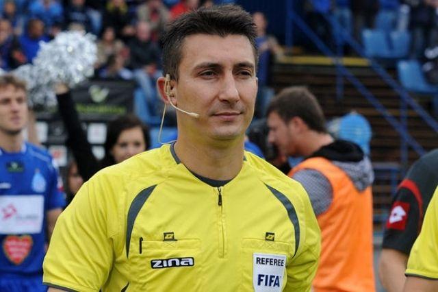 Павел Гиль, главный арбитр матча Украина - Нигер