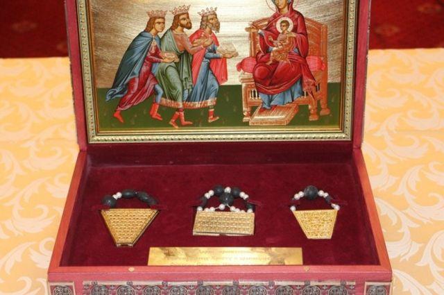 Честные дары волхвов доставят в Екатеринбург