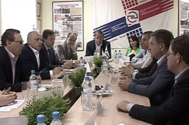 Виктор Назаров услышал проблемы предпринимателей.
