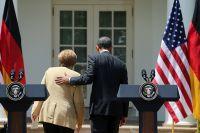 Встреча канцлера Германии Ангелы Меркель с президентом США Бараком Обамой.