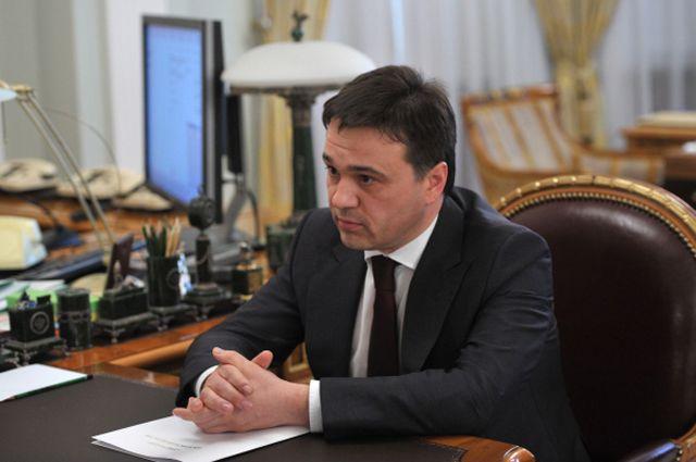 Губернатор Подмосковья Андрей Воробьёв.