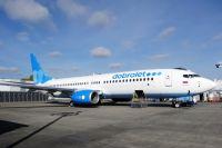 Самолёт Boeing 737-800NG авиакомпании «Добролёт».