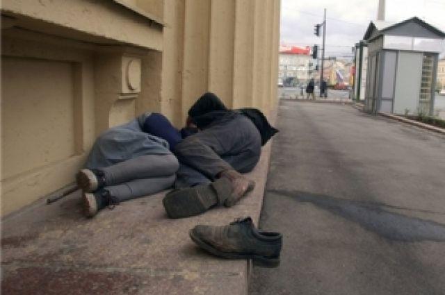 Среди бомжующих есть те, кто лишился квартиры из-за своей халатности.