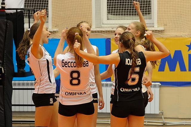 Молодёжная команда «Омичка-2».