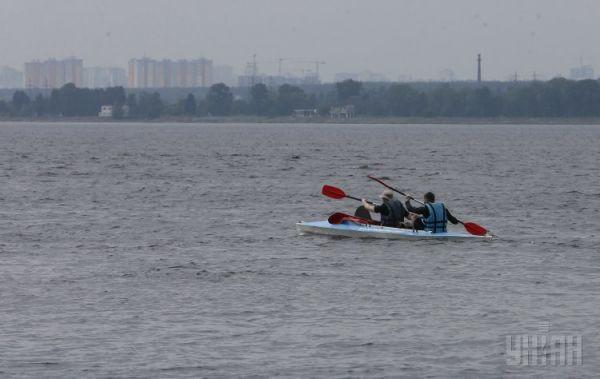 Переход по Днепру к Черному морю на веслах