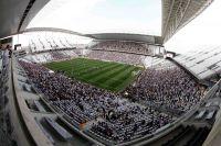 Fрена в Сан-Паулу во время матча между «Коринтианс» и «Фигейренсе».