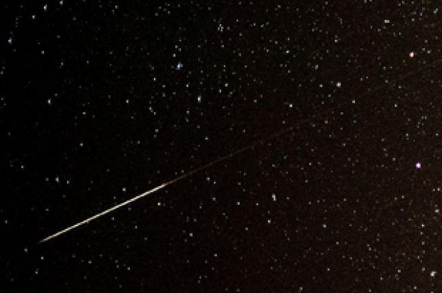 Челябинцы смогут наблюдать метеорный дождь в ночь с 23 на 24 мая