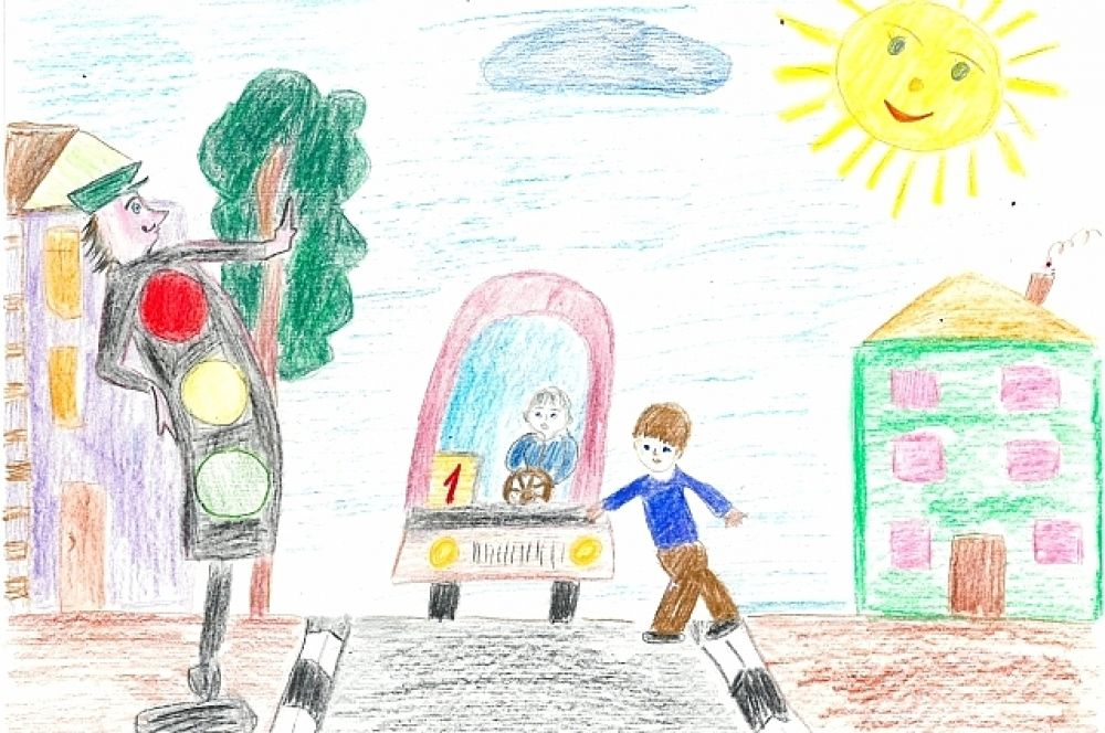 Конкурсная работа Сумарокова Никиты, 6 лет.