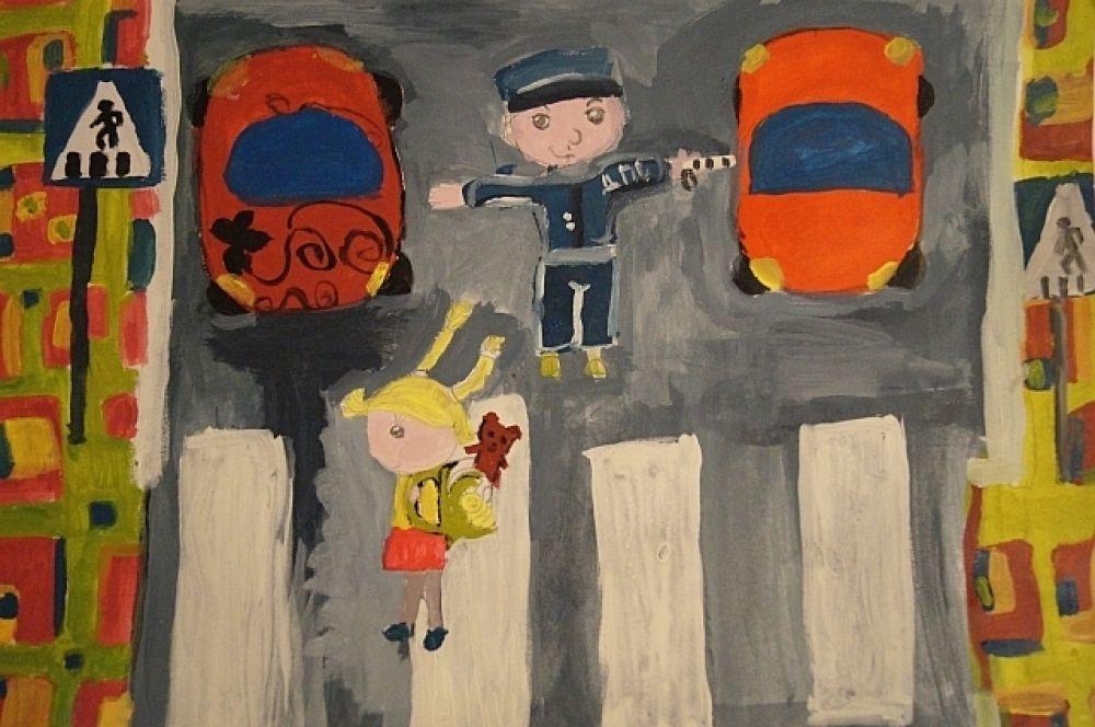 Конкурсная работа Гоголевой Насти, 9 лет.