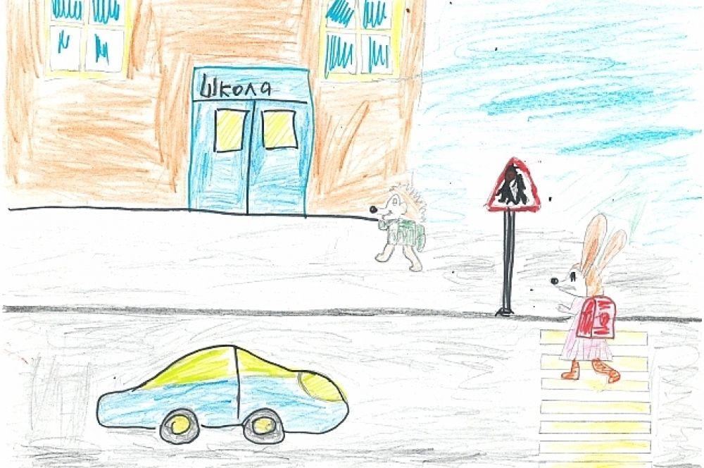 Конкурсная работа Бахтигареева Рената, 6 лет.