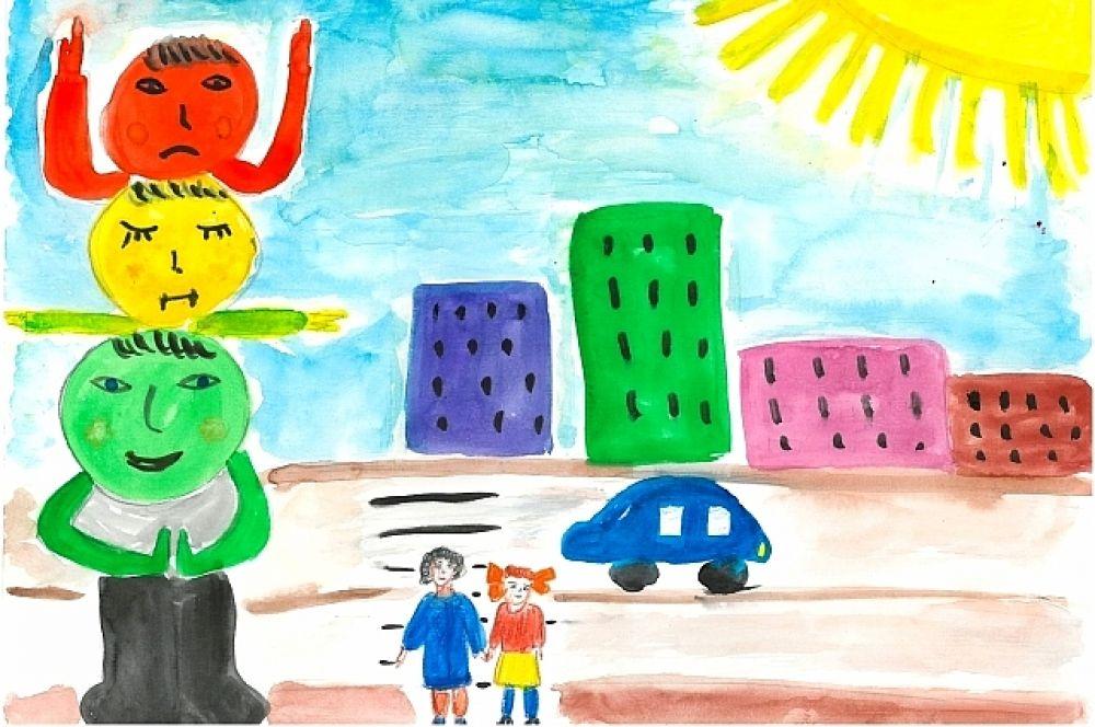 Конкурсная работа Хайитовой Ангелины, 6 лет