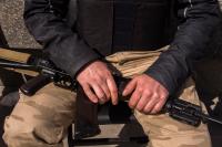 Боевики трижды за ночь штурмовали пограничный отряд «Станичная Луганская»