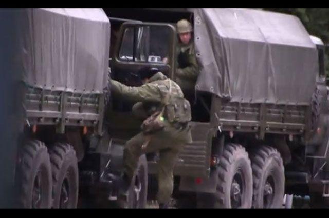 Российские войска перевели в места постоянной дислокации