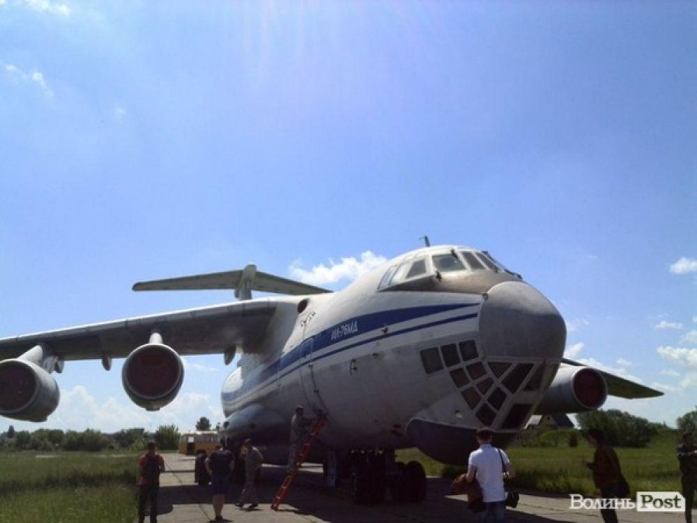 Боевая авиация в Луцке