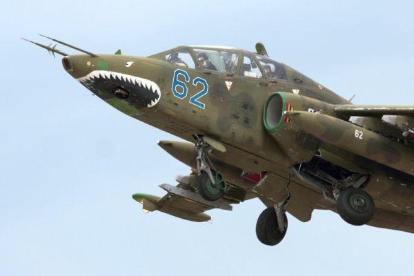 Боевая авиация в небе над Николаевом