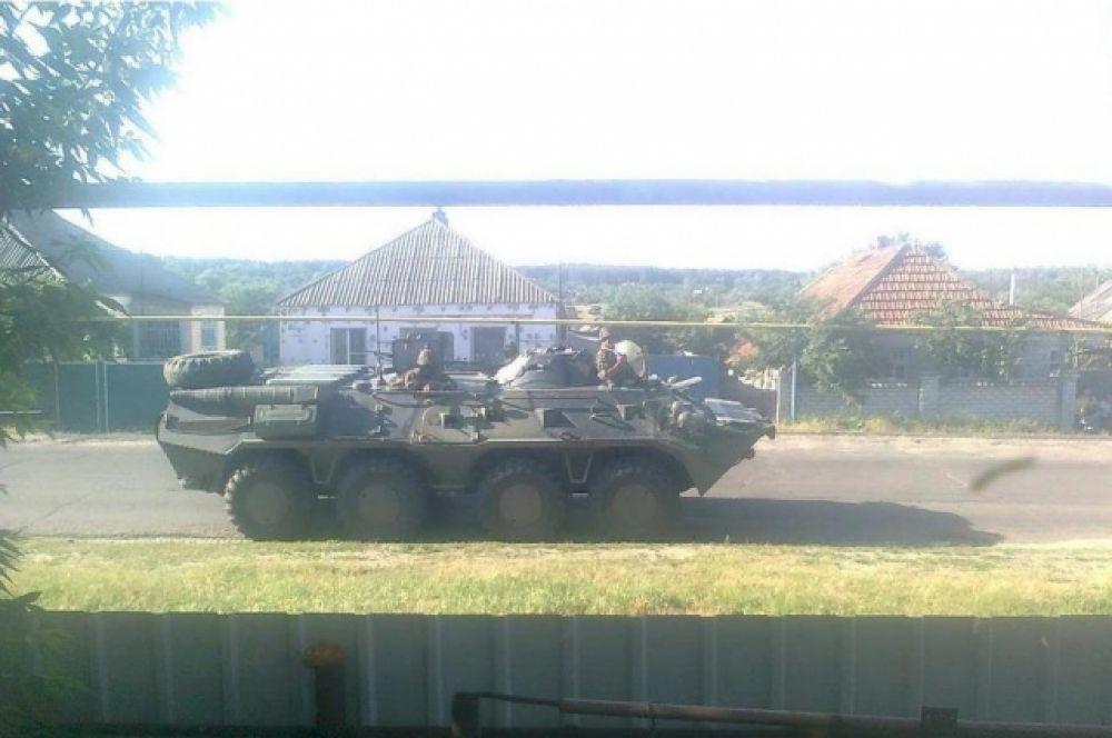 Военная техника в Лисичанске
