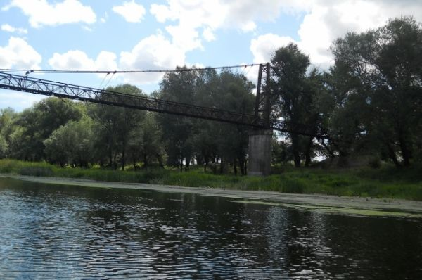 Мост в Лисичанске