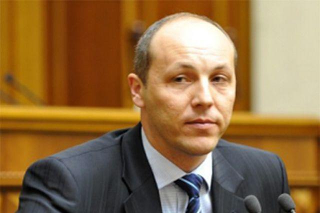Секретарь Совета национальной безопасности и обороны Украины (СНБО) Андрей Парубий