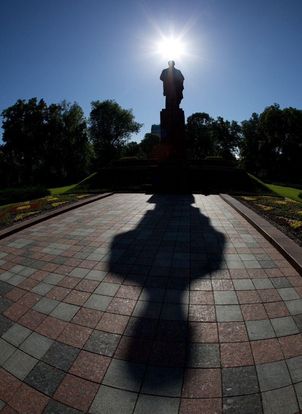 Памятник Тарасу Шевченко в центре Киева