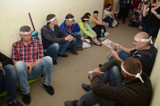 Голодовка стоматологов во Львове