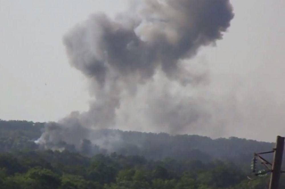 Взрыв под Волновахой