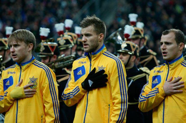Сборная Украины по футболу сыграет с командой из Нигера