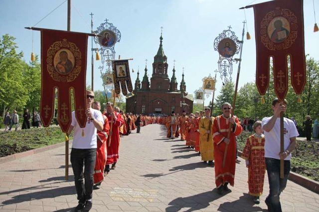 Челябинские верующие пройдут крестным ходом в день славянской письменности