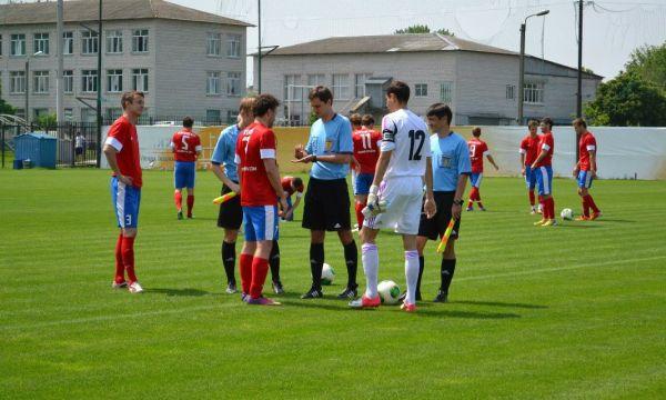 Выход команд «Арсенал» - Украина U-20
