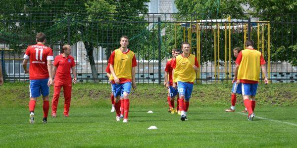 Футболисты киевского Арсенала