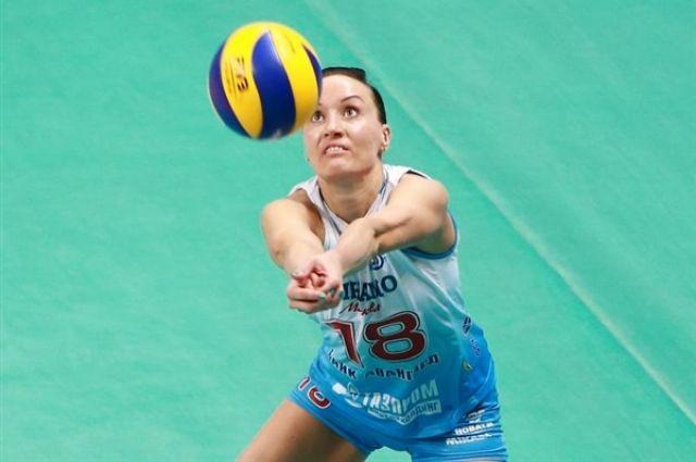 Чемпионка мира по волейболу будет играть за челябинский «Автодор-Метар»