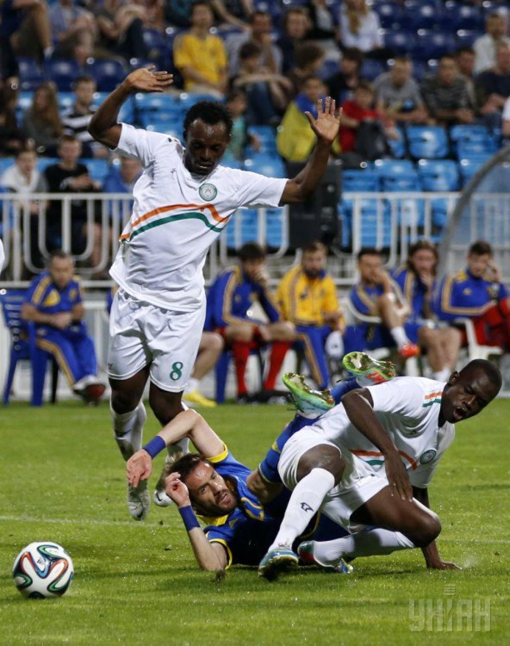 Сборной Нигера не удалось обыграть национальную сборную Украины