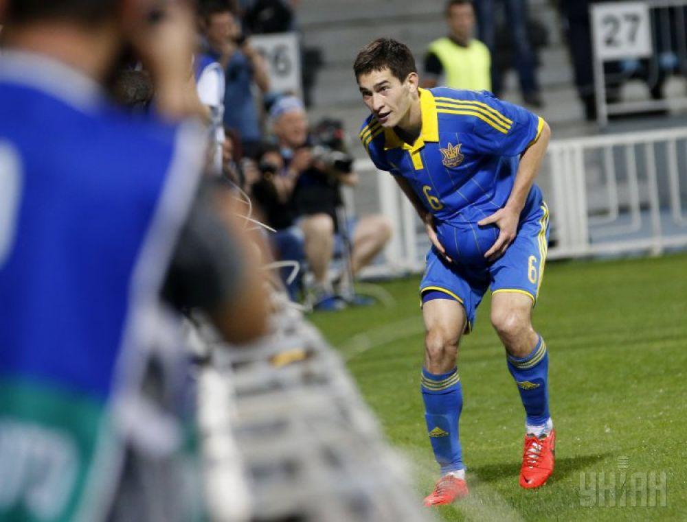 Тарас Степаненко после победного гола